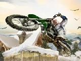 玩 Winter bike stunts