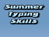 Play Summer typing skills now