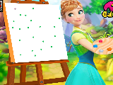 Play Anna drawing class now