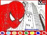 Play Spiderman coloring now