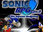 玩 Sonic RPG - episode 8 - the superior hedgehog