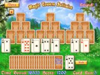 Play Magic Towers Solitaire now