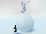 Play Yeti boule de neige now