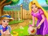 Play Rapunzel mommy gardening now