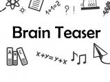 Play Brain teaser now