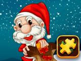 Play Santa claus puzzle time now